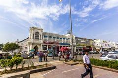 康乐广场是其中一个最大的商业中心在印度 图库摄影