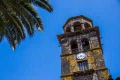 康塞普西翁角的教会,圣克里斯托瓦尔de La拉古纳,圣克鲁斯de特内里费岛,西班牙 免版税库存图片
