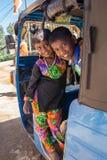 康提,斯里兰卡- 2月01 :Pera Hera节日 免版税图库摄影