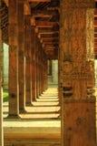 康提,斯里兰卡-牙的寺庙 库存照片