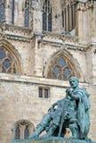 康斯坦丁雕象 库存图片
