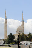 康斯坦丁,阿尔及利亚- 2017年3月7日:埃米尔阿卜杜卡达尔清真寺是一个最大在世界上 在1968个wi开始的最初的想法 免版税库存图片