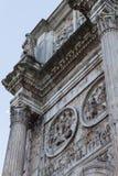 康斯坦丁-罗马曲拱  免版税图库摄影