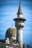康斯坦察罗马尼亚的黑海海岸的市中心清真寺 免版税库存图片