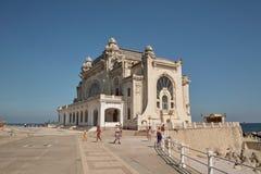 康斯坦察赌博娱乐场,康斯坦察,罗马尼亚 免版税库存照片