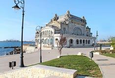 康斯坦察赌博娱乐场,罗马尼亚2 库存图片