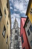 康斯坦茨,德国:大教堂 免版税库存图片