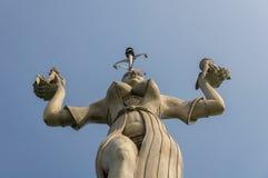 康斯坦茨,德国:统治权雕象 免版税库存照片