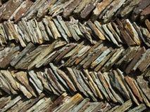 康沃尔墙壁 免版税库存图片