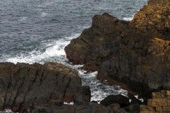 康沃尔海景 库存照片
