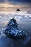 康沃尔的海岸 免版税库存照片
