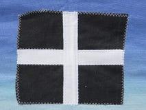 康沃尔郡旗子 免版税库存图片