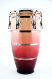 康茄舞鼓红色白色 库存图片