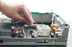 延伸计算机存贮器 图库摄影