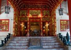 建立中国pa样式泰国的轰隆 免版税库存图片