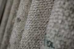建立凝结面以灰色不规则性 水泥织地不很细背景 库存照片