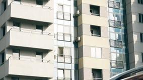 建立射击的抽象公寓 影视素材