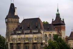 建立有历史的宫殿样式的布达佩斯 免版税库存照片