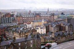 建立苏格兰英国的爱丁堡地平线 库存图片