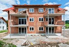 建筑下系列房子 库存照片