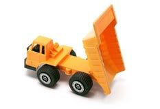 建筑卸车玩具 库存图片
