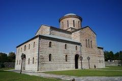 建筑和宗教地标在皮聪大 库存照片