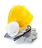 建筑器材安全性 图库摄影