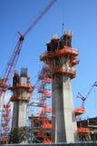 建筑基础 库存图片