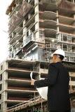 建筑复核 免版税库存图片