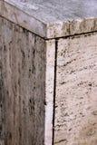 建筑外部大理石石墙纹理 图库摄影