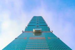 建筑学台北101 库存照片