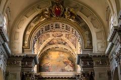 建筑学和宗教 图库摄影