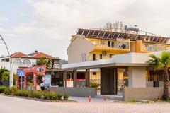 建筑学在凯梅尔,土耳其 库存照片
