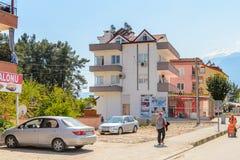 建筑学在凯梅尔,土耳其 免版税库存图片