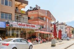 建筑学在凯梅尔,土耳其 免版税库存照片