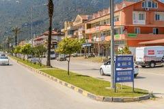 建筑学在凯梅尔,土耳其 免版税图库摄影