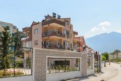 建筑学在凯梅尔,土耳其 库存图片