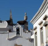 建筑学在法鲁葡萄牙 免版税库存图片