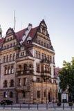 建筑学在莱格尼察 波兰 免版税库存照片