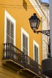 建筑学在Denia,西班牙 免版税库存照片