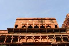 建筑学壮观的细节在Agr里面复合体的  图库摄影