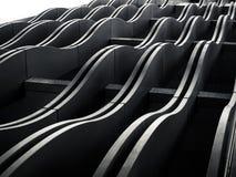 建筑学外部门面曲线样式现代大厦 库存图片