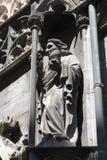 建筑学的元素是圣斯蒂芬教会在维也纳在奥地利 库存照片
