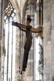 建筑学的元素是圣斯蒂芬教会在维也纳在奥地利 免版税库存图片