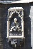 建筑学的元素是圣斯蒂芬教会在维也纳在奥地利 图库摄影