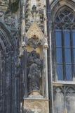 建筑学的元素是圣斯蒂芬教会在维也纳在奥地利 免版税库存照片