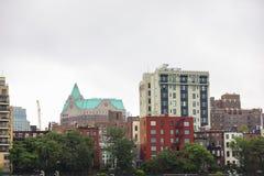 建筑学纽约布鲁克林 免版税库存照片