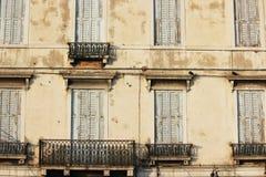 建筑学-威尼斯,意大利 免版税图库摄影