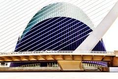 建筑学-水族馆巴塞罗那 免版税库存照片