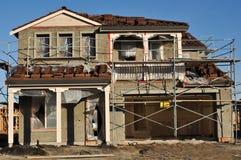 建筑家庭新下面 免版税库存图片